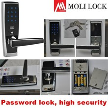 Password lock, lock numeric keypad, password door digital lock