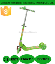 Foldable scooter three wheels with bell HDL-7315A