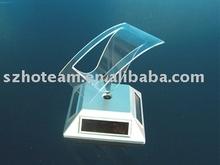 solar energy rotating mobile phone display