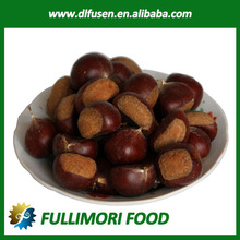 sweet and easy peeling fresh chestnuts