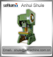 16 Tons sheet metal slotted hole punch press/power press machine hydraulic oil press machine