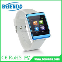 New type most popular leather bracelet smart watch 2015 android mobile phone