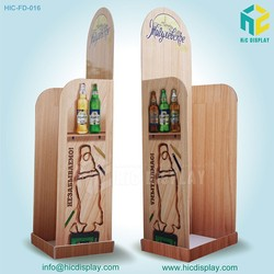 Cardboard display stand for beer,beer bottle display case