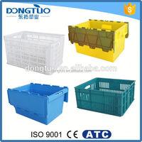 Best price large plastic crates, plastic glass crates