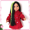 2015 new arrival doll accessories wholesale doll wig pieces