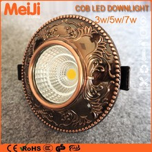 best selling in Norway 3w long lifespan recessed downlights led housing