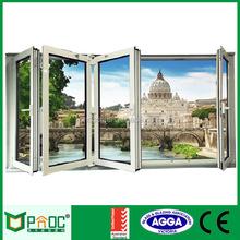 Aluminium Alloy Modern Design Non-thermal Break Folding Door PNOC090BFD