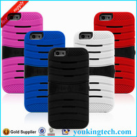 Combo Robot Stand Case For Iphone 6, protective cover