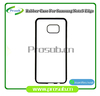 sublimation heat transfer silicon blank diy cell phone case cover skin for SFP-SAMSUNG galaxy note 5 edge