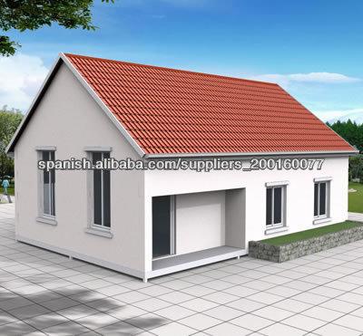 Casa prefabricada de panel sandwich estructuras acero identificaci n del producto 300001219556 - Casas de panel sandwich ...
