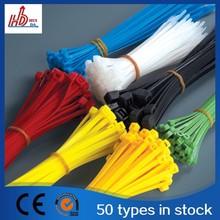 Self-Locking Cable Ties, INVISTA Nylon 66, CE SGS Approved nylon cable tie