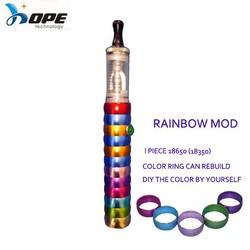 2015 new electronic cigarette rainbow e hookah pen vapor wholesale