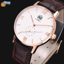 Popular 2015 simple men watch oem your own logo with less quantity from factory