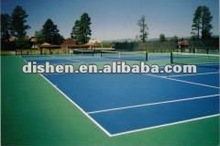outdoor or indoor sports court surface
