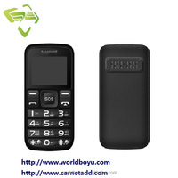 Cheapest old man phone WD312 big button large font with FM feature mobile phone