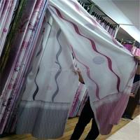 new floral printing curtain of beautiful design curtain/fabric new desigh in 2015