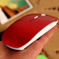 Colorful Mouse 2.4G USB bluetooth Receiver Super Slim Adjustable Wireless Mouse