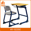 Trust passed quality single school table and chair set for primary school