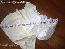 Bulk white cotton rags for ship