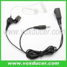 Serveillance kit earphone / Acoustic tube earphone for Motorola interphone Visar series