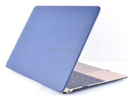New waterproof slim front + back hot selling for macbook case leather genuine
