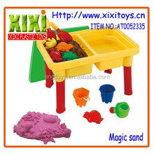 15Pcs education modeling soft sand toy kids magic sand