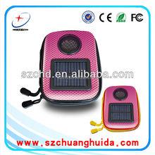 portable Promotional solar speaker case
