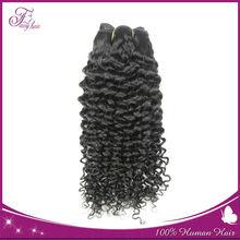 100% human 7a unprocessed brazilian jerry curl hair virgin hair extension