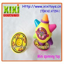 6.5Cm Promotional Cheap Mini Wholesale Plastic Spinning Top