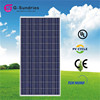 Customers first poly 280w solar panels for electricity