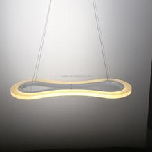 Restaurant chandelier light modern led pendant light with special design