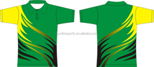 P10-111green sublimation sports polo shirt design