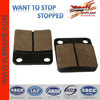 Good performance go kart small squre brake pad,go karts Brake Pad Manufacturer,Good quality motorcycle brake pads zhejiang motor