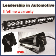 cree car lighting bar shock proof waterproof vibration certified