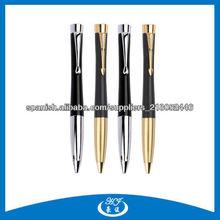 Calidad del color multi Parker Pen metal de alta bolígrafo, bolígrafos marcas famosas
