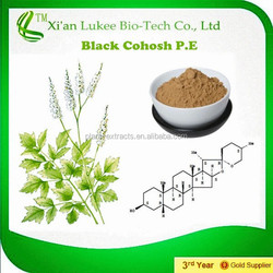 Hot sale Best Quality 100% Natural Triterpense Black Cohosh root Extract