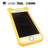 Lovely silicone safety cover for mobile phone custom waterproof phone case silicone cell phone case