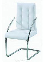 2015 new classical design and chrome leg and arms restaurant chair dining chair.