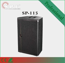 spe PA speaker 15inch active system musical instrument with powerful sound