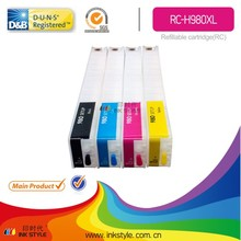 refillable cartridge for Officejet H980 Enterprise Color X585f best selling products