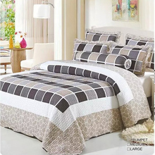 Home use chinese stitch adult bed cover