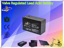 valve regulated lead acid AGM battery 12v 7ah solar/UPS/inverter/controller/electrical bike/golf car battery 12v 7ah