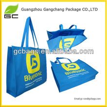 Fashionable durable beautiful customized printed pp non-woven bags