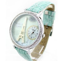 Cheap price wholesale 100% original mini world brand leather watch from china supplier CW1308