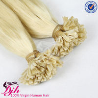 Unprocessed 100% Full Cuticle skin weft U tip dread Lock Hair Extension