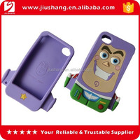 Silicone mobile phone cases for iphone 4