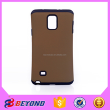 Hot sale pc+tpu 2 in 1 armor phone cases cover for samsung galaxy note 4