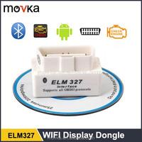 2014 SUPER MINI ELM327 Bluetooth OBD2 Car Diagnostic Interface ELM 327 Wireless Scan Tool