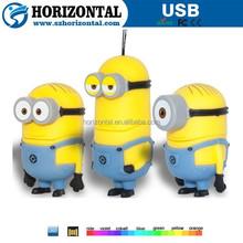Cartoon Minions toy model 8GB 16GB 32GB USB 2.0 flash drive