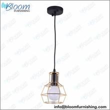 Led ring pendant lamp, restaurant pendant lamp, iron wire pendant lamp